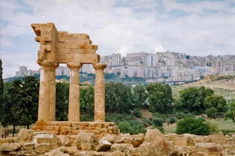 Agrigento Ancient and Modern